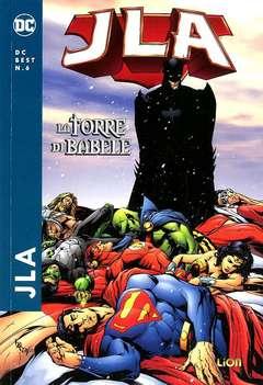 Copertina DC BEST n.6 - JLA: TORRE DI BABELE, RW LION