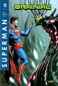 Copertina DC BEST n.2 - SUPERMAN: BRAINIAC, RW LION