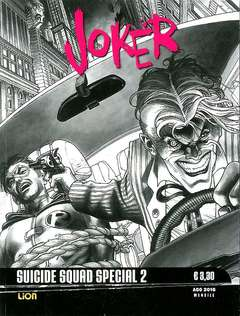 Copertina DC BLACK & WHITE SPECIAL n.2 - JOKER, RW LION