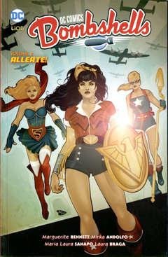 Copertina DC COMICS BOMBSHELL n.2 - ALLEATE!, RW LION