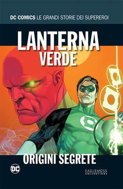 Copertina DC COMICS LE GRANDI STORIE... n.10 - LANTERNA VERDE: ORIGINI SEGRETE, RW LION