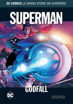 Copertina DC COMICS LE GRANDI STORIE... n.15 - SUPERMAN: GODFALL, RW LION