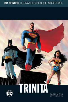 Copertina DC COMICS LE GRANDI STORIE... n.19 - SUPERMAN/BATMAN/WONDER WOMAN: TRINITA', RW LION