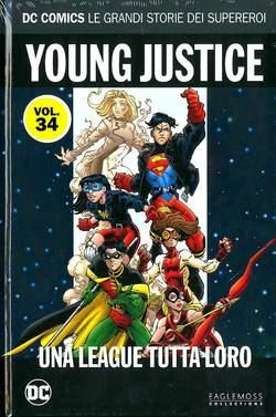 Copertina DC COMICS LE GRANDI STORIE... n.34 - YOUNG JUSTICE: UNA LEAGUE TUTTA LORO, RW LION