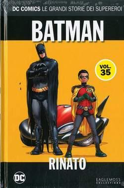 Copertina DC COMICS LE GRANDI STORIE... n.35 - BATMAN: RINATOR, RW LION