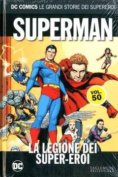 Copertina DC COMICS LE GRANDI STORIE... n.50 - SUPERMAN: LA LEGIONE DEI SUPEREROI, RW LION