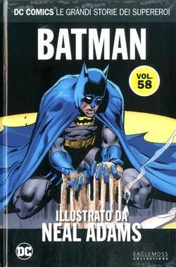 Copertina DC COMICS LE GRANDI STORIE... n.58 - BATMAN ILLUSTRATO DA NEAL ADAMS, RW LION