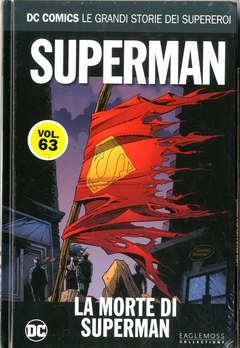 Copertina DC COMICS LE GRANDI STORIE... n.63 - SUPERMAN: LA MORTE DI SUPERMAN, RW LION