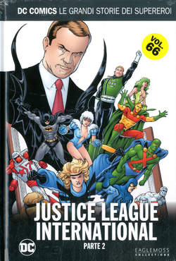 Copertina DC COMICS LE GRANDI STORIE... n.66 - JUSTICE LEAGUE INTERNATIONAL 2, RW LION