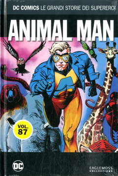 Copertina DC COMICS LE GRANDI STORIE... n.87 - ANIMAL MAN, RW LION