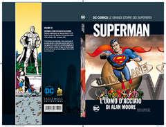 Copertina DC COMICS LE GRANDI STORIE... n.92 - SUPERMAN: L'UOMO D'ACCIAIO DI ALAN MOORE, RW LION