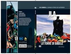 Copertina DC COMICS LE GRANDI STORIE... n.4 - JLA: LA TORRE DI BABELE, RW LION