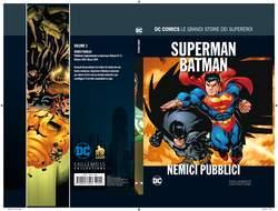 Copertina DC COMICS LE GRANDI STORIE... n.3 - SUPERMAN/BATMAN: NEMICI PUBBLICI, RW LION
