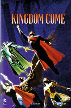 Copertina DC COMICS STORY n.1 - KINGDOM COME, RW LION