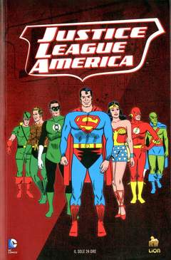 Copertina DC COMICS STORY n.7 - JUSTICE LEAGUE AMERICA - STARRO IL CONQUISTATORE, RW LION
