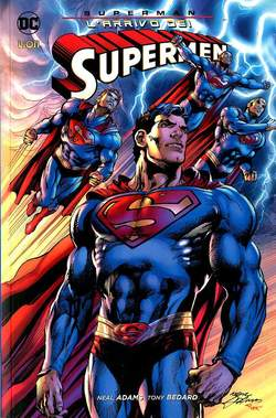 Copertina DC MINISERIE n.41 - SUPERMAN - L'ARRIVO DEI SUPERMEN, RW LION