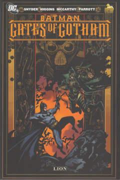 Copertina DC MINISERIE n.4 - BATMAN: I CANCELLI DI GOTHAM, RW LION