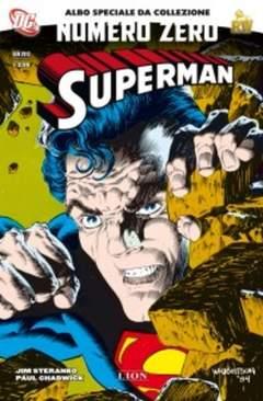 Copertina DC NUMERI 0 n.2 - SUPERMAN, RW LION