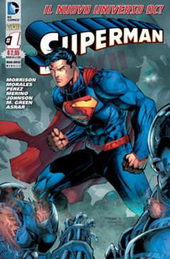 Copertina DC REBOOT #1 prima ristampa n.2 - SUPERMAN, RW LION