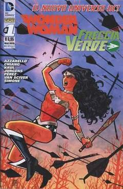 Copertina DC REBOOT #1 prima ristampa n.6 - WONDER WOMAN/FRECCIA VERDE, RW LION