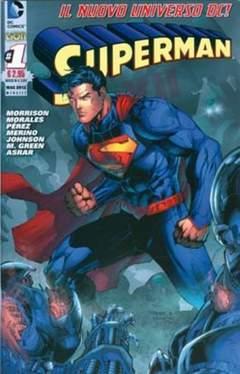 Copertina DC REBOOT #1 seconda ristampa n.2 - SUPERMAN, RW LION