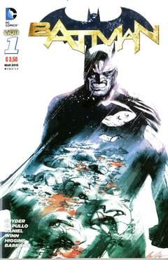 Copertina DC REBOOT #1 settima ristampa n.1 - BATMAN, RW LION