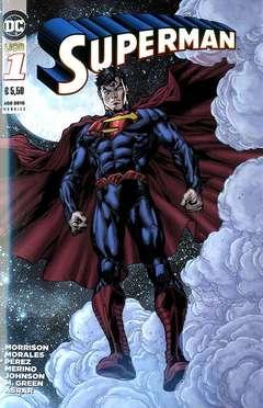 Copertina DC REBOOT #1 terza ristampa n.2 - SUPERMAN, RW LION