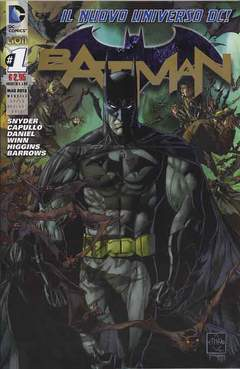 Copertina DC REBOOT SUPERVARIANT n.1 - BATMAN #1 SUPERVARIANT GOLD, RW LION
