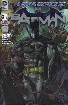 Copertina DC REBOOT SUPERVARIANT n.2 - BATMAN #1 SUPERVARIANT SILVER, RW LION