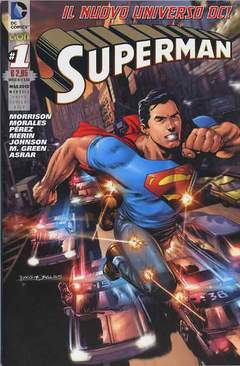 Copertina DC REBOOT SUPERVARIANT n.3 - SUPERMAN #1 SUPERVARIANT GOLD, RW LION