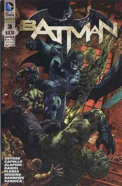 Copertina DC REBOOT ULTRAVARIANT n.3 - BATMAN #3 ULTRAVARIANT, RW LION