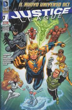 Copertina DC REBOOT ULTRAVARIANT n.7 - JUSTICE LEAGUE #1 ULTRAVARIANT, RW LION