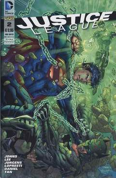 Copertina DC REBOOT ULTRAVARIANT n.8 - JUSTICE LEAGUE #2 ULTRAVARIANT, RW LION