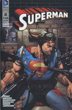 Copertina DC REBOOT ULTRAVARIANT n.5 - SUPERMAN #2 ULTRAVARIANT, RW LION