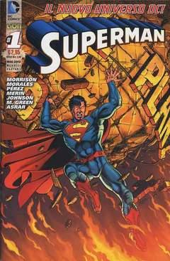 Copertina DC REBOOT VARIANT n.4 - SUPERMAN #1 VARIANT , RW LION
