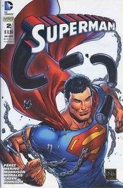 Copertina DC REBOOT VARIANT n.5 - SUPERMAN #2 VARIANT, RW LION