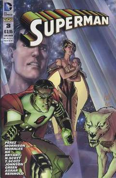 Copertina DC REBOOT VARIANT n.6 - SUPERMAN #3 VARIANT, RW LION