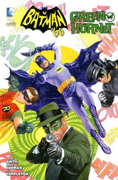 Copertina BATMAN '66 E GREEN HORNET n. - BATMAN '66 E GREEN HORNET, RW LION