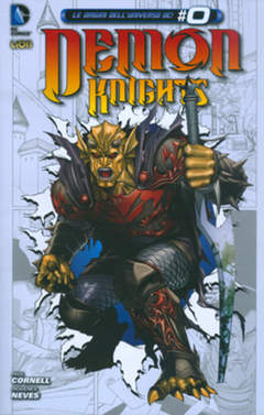 Copertina DEMON KNIGHTS n.2 - LA MORTE DI MERLINO, RW LION