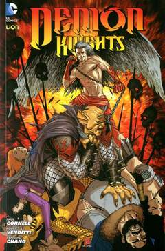 Copertina DEMON KNIGHTS n.3 - ALL'INFERNO, RW LION