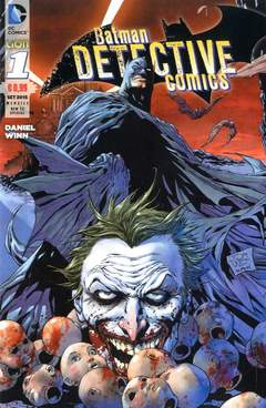 Copertina DETECTIVE COMICS NEW 52 SPEC. n.1 - BATMAN DETECTIVE COMICS, RW LION
