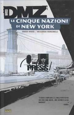 Copertina DMZ (m12) n.12 - LE CINQUE NAZIONI DI NEW YORK, RW LION