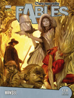 Copertina C'ERA UNA VOLTA FABLES n.16 - HANSEL, RW LION