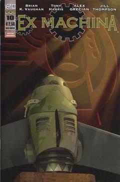 Copertina EX-MACHINA prima serie (m11) n.10 - EX-MACHINA, RW LION