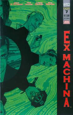Copertina EX-MACHINA prima serie (m11) n.7 - EX-MACHINA, RW LION