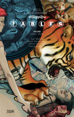 Copertina FABLES DELUXE n.1 - FABLES DELUXE, RW LION