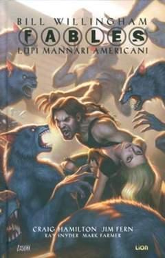 Copertina FABLES LUPI MANNARI AMERICANI n. - FABLES: LUPI MANNARI AMERICANI, RW LION