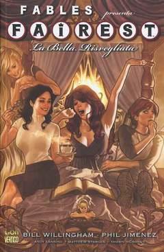 Copertina FAIREST n.1 - LA BELLA RISVEGLIATA, RW LION