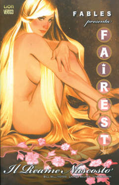 Copertina FAIREST n.2 - IL REAME NASCOSTO, RW LION