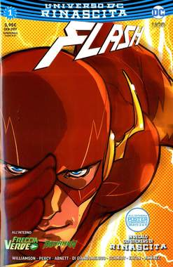 Copertina FLASH n.1 - FLASH, RW LION